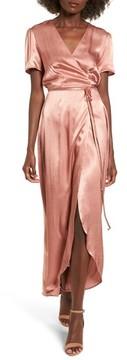 WAYF Women's Gwyneth Wrap Maxi Dress