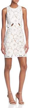 WAYF Drake Cutout Lace Dress