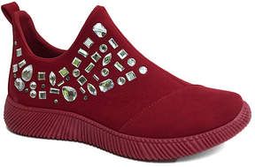 Bamboo Red Forward Slip-On Mid-Rise Sneaker