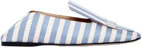 Sergio Rossi 10mm Sr1 Striped Cotton Loafers