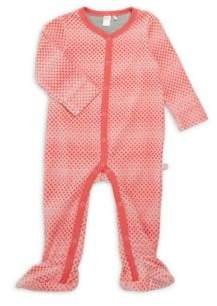 Petit Lem Baby's Deer Cotton-Blend Footie