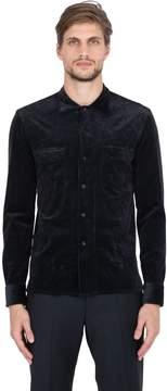 Salvatore Piccolo Stretch Corduroy Cotton & Modal Shirt