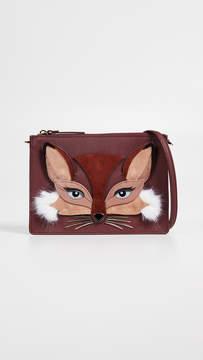Kate Spade So Foxy Fox Clarise Crossbody Bag