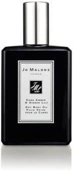 Jo Malone Cologne Intense Dark Amber & Ginger Lily Body Oil/3.4 oz.