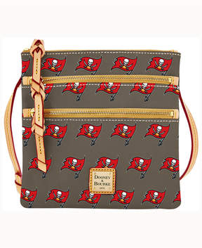 Dooney & Bourke Tampa Bay Buccaneers Triple-Zip Crossbody Bag - GRAY - STYLE