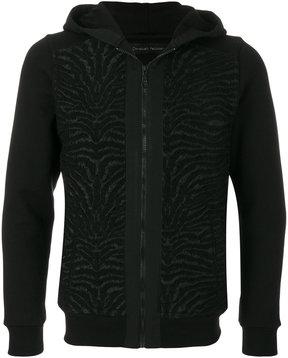 Christian Pellizzari tiger print hoodie