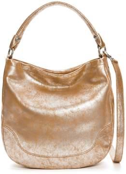 Frye Melissa Metallic Hobo Bag