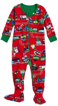 Hatley Infant Boy's Magical Christmas Organic Cotton Fitted One-Piece Pajamas