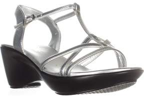 Callisto Caressa Wedge Sandals, Silver.