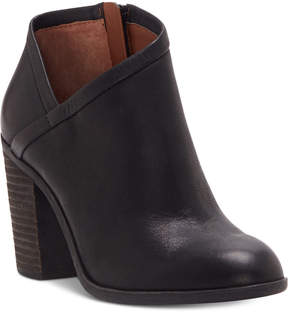 Lucky Brand Women's Salza Block-Heel Booties Women's Shoes