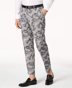 INC International Concepts I.n.c. Men's Slim-Fit Camo Jacquard Pants, Created for Macy's