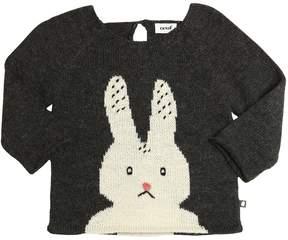 Oeuf Bunny Baby Alpaca Tricot Sweater