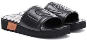 Loewe Leather slides