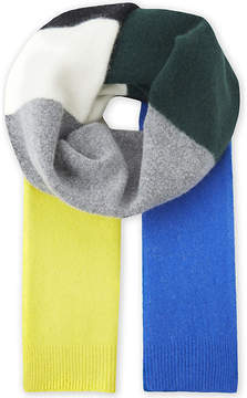 Sandro Esthée multi-coloured wool scarf