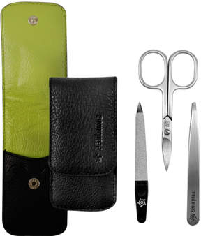 Pfeilring Manicure Set - Black/Green by 3pcs Set)