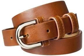 Merona Women's Modern Dress Belt - Brown