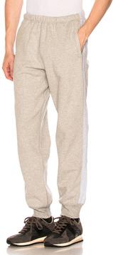 Engineered Garments Fleece Sweatpants in Gray.