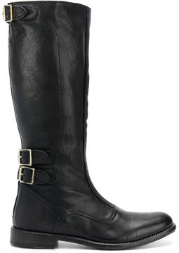 Paul Smith calf length buckle boots