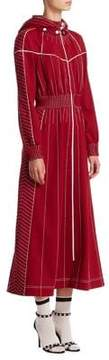 Valentino Athleisure Hooded Zip Dress