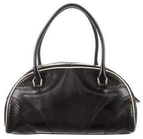 Prada Leather Bowling Bag