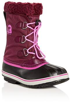 Sorel Girls' Yoot Pac Nylon Cold Weather Boots - Little Kid, Big Kid
