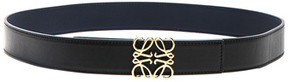 Loewe Anagram Belt in Black.