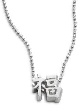 Alex Woo Faith Chinese Luck Necklace