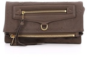 Louis Vuitton Pre-owned: Petillante Clutch Monogram Empreinte Leather. - BROWN - STYLE