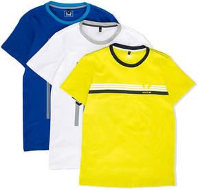 Emporio Armani Kids branded set of three T-shirts