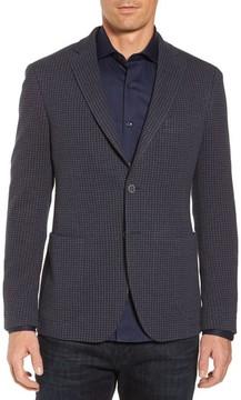 Bugatchi Men's Houndstooth Cotton Knit Blazer
