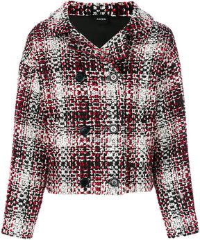Aspesi checked tweed jacket