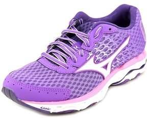 Mizuno Wave Inspire 11 Women D Round Toe Synthetic Purple Running Shoe.