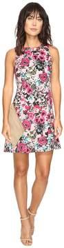 Kensie Wild Garden Dress with Cut Out Side KS3K7740