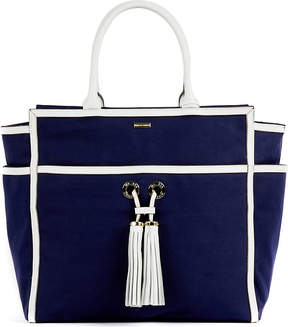 Melissa Odabash Palm Beach canvas tote bag