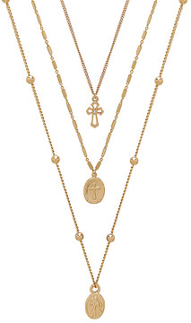 Ettika Single Charmer Necklace Set
