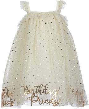 Mud Pie Baby Girls Birthday Princess Dotted Dress