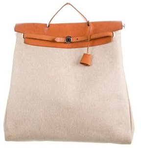 Hermes Toile Herbag MM - NEUTRALS - STYLE