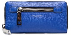 Marc Jacobs Women's Leather ¿gotham¿ Continental Wallet Blue. - BLUE - STYLE