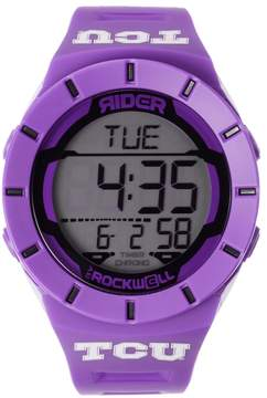Rockwell Kohl's TCU Horned Frogs Coliseum Chronograph Watch - Men
