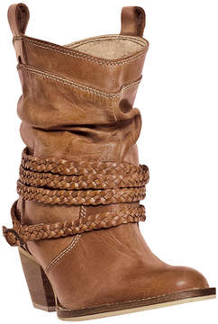 Dan Post Tan Twisted Sister Leather Boot - Women