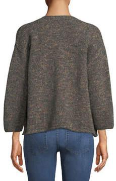 eskandar Cropped Wool-Blend Cardigan