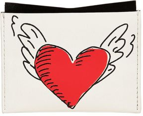 Coeur Tattoo Leather Card Holder