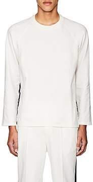Barena Venezia Men's Velvet-Striped Cotton Terry Sweatshirt