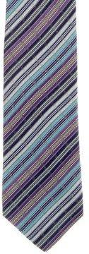 Missoni Striped Silk Tie