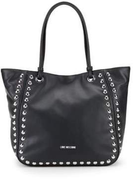 Love Moschino Studded Tote