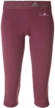 adidas by Stella McCartney cropped sport track pants