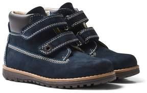 Primigi Navy Velcro Ankle Boots