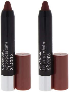 Cover Girl Cocoa Twist LipPerfection Jumbo Gloss Lip Crayon - Set of Two