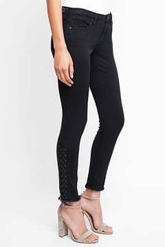 Blank Exclusive Lace Up Skinny Jeans