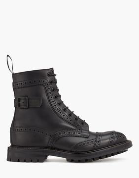 Belstaff Trickers Phoenix Short Boots Black